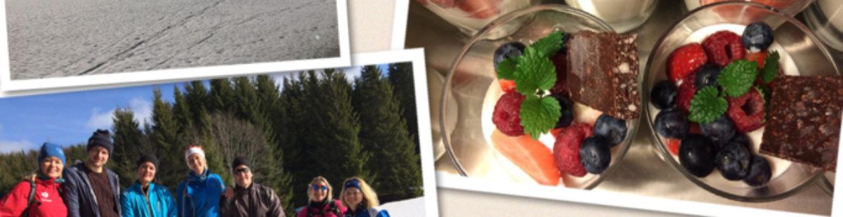 Vinteryoga og sunn mat i marka 19 og 20 mars 2016