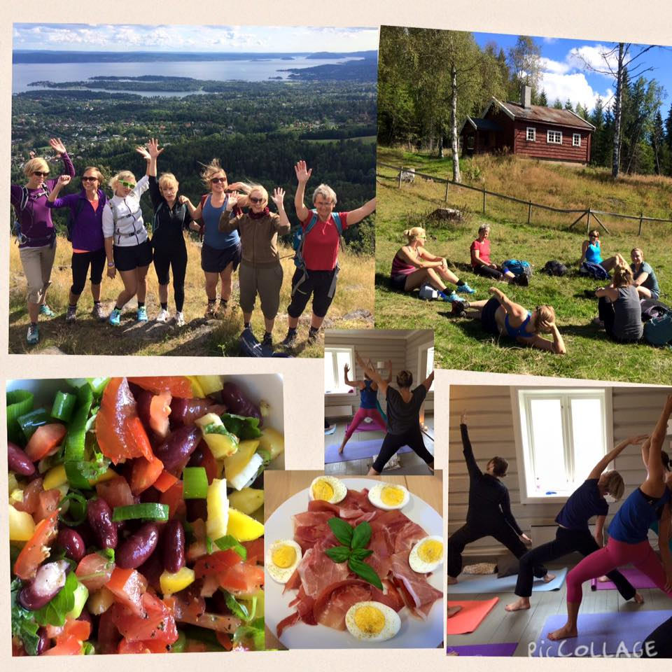 Sommeryoga og sunn mat i marka 18 og 19 Juni 2016