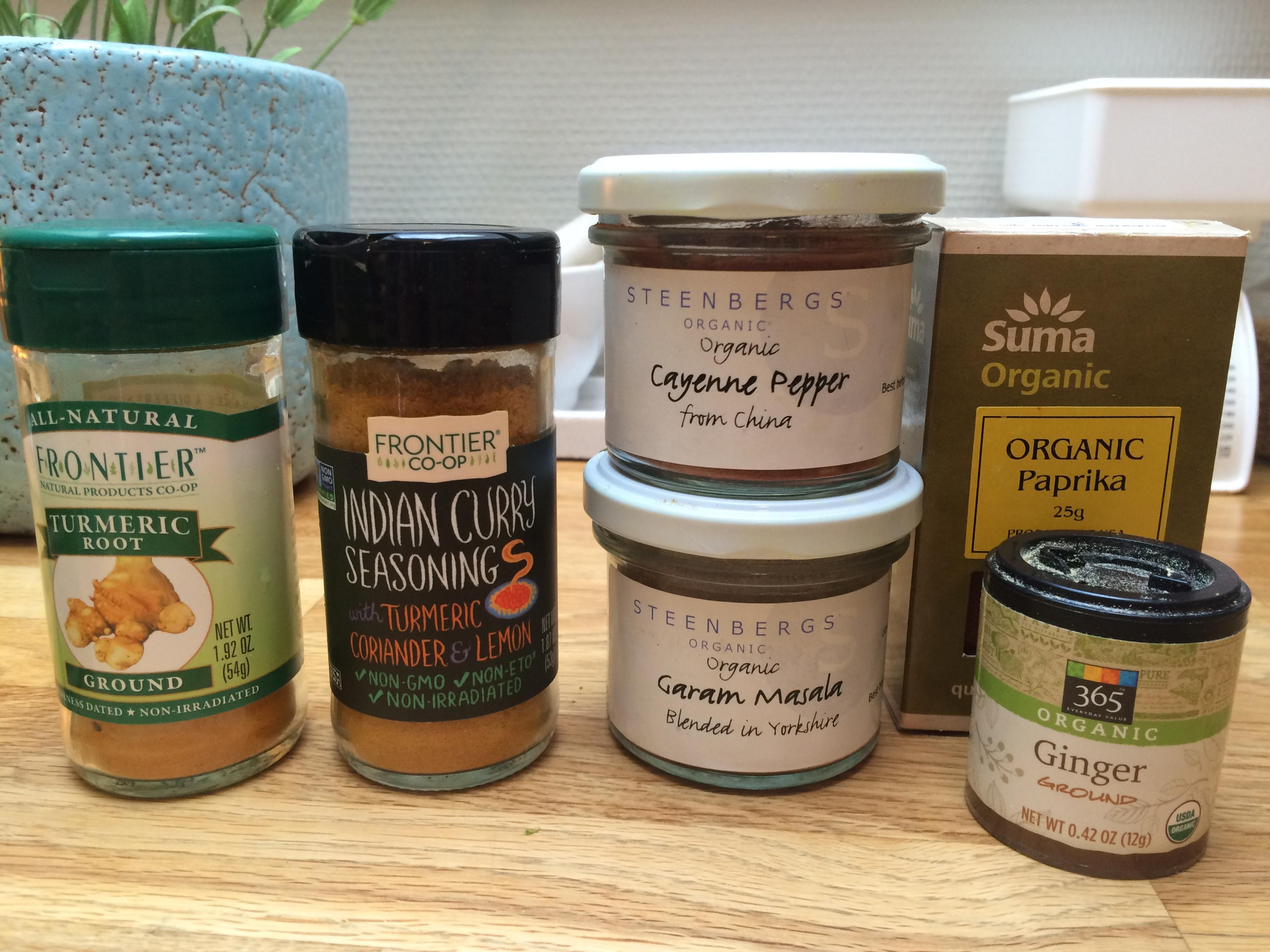 krydder currygryte