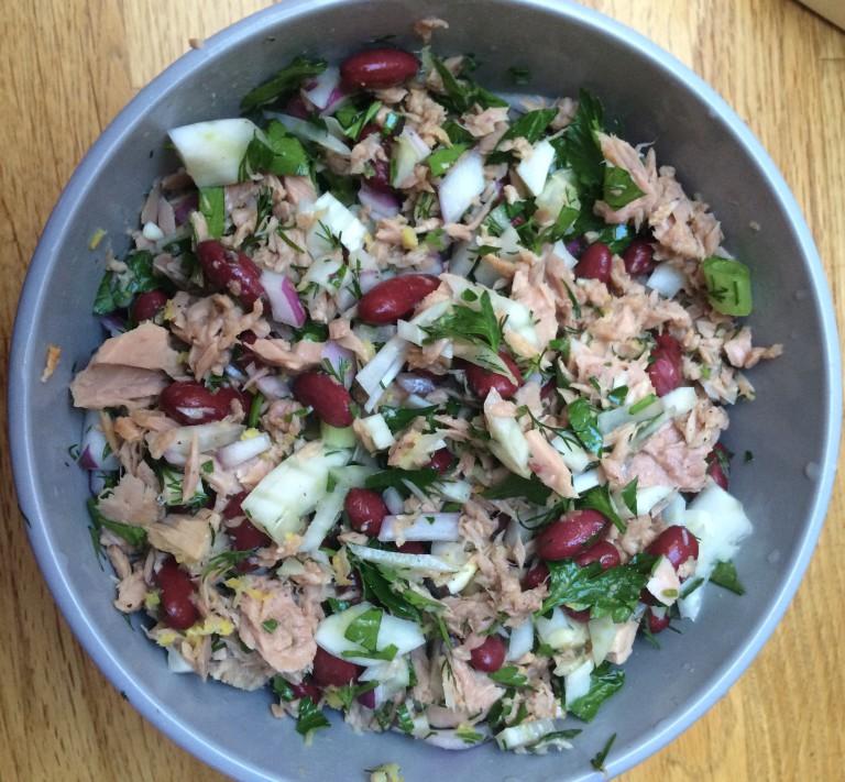 Tunfisksalat- protein og næringsrik!