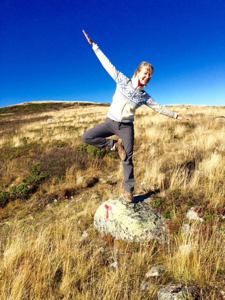 Yoga i naturen