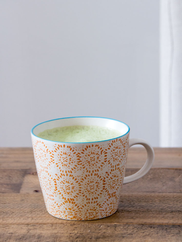 Matcha grønn te- Lag matcha latte!
