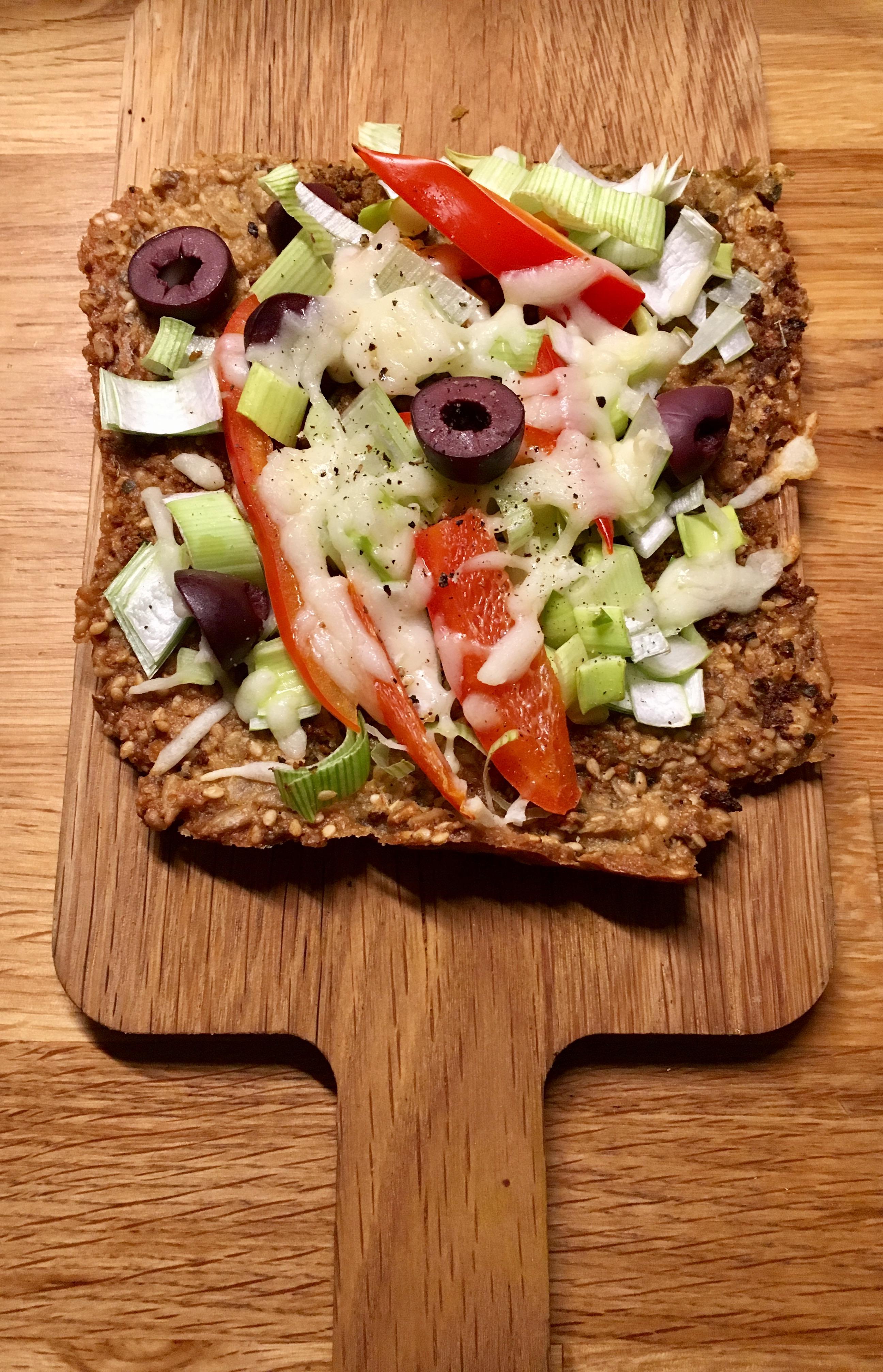 Glutenfri økologisk supergod pizza bunn