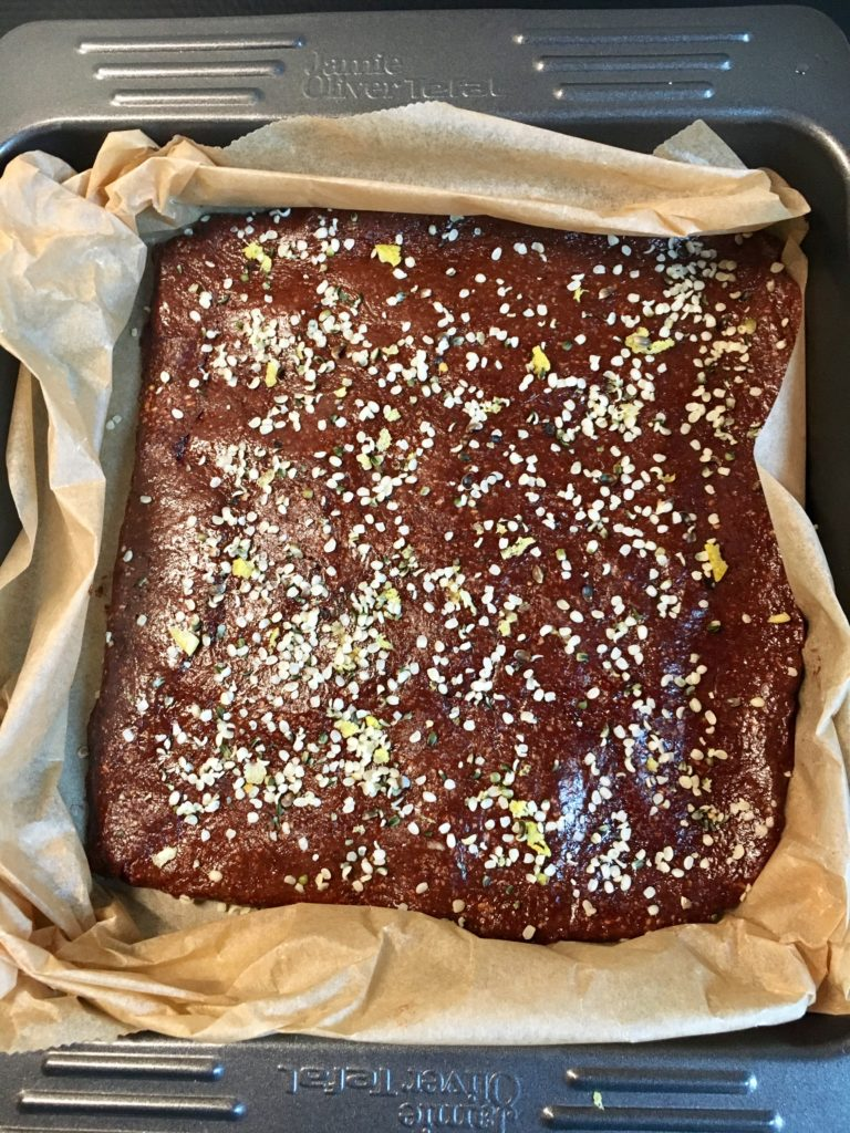 Read more about the article Raw sitronbrownies