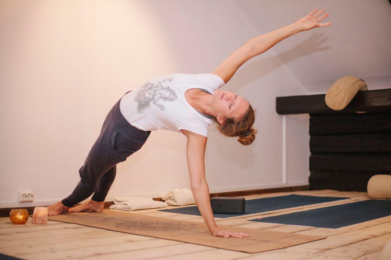 Sommer Yoga og sunn mat i marka 18 august 2018