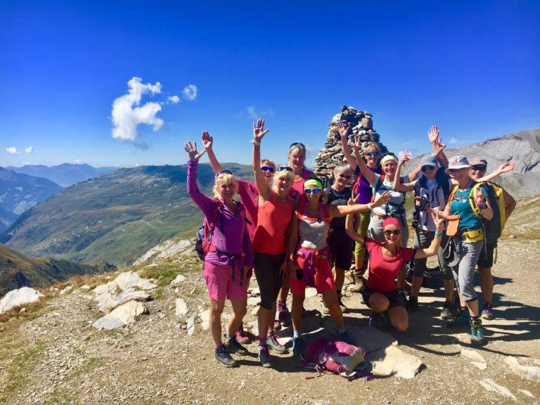 Siv's reisebrev fra fotturen Tour Mont Blanc