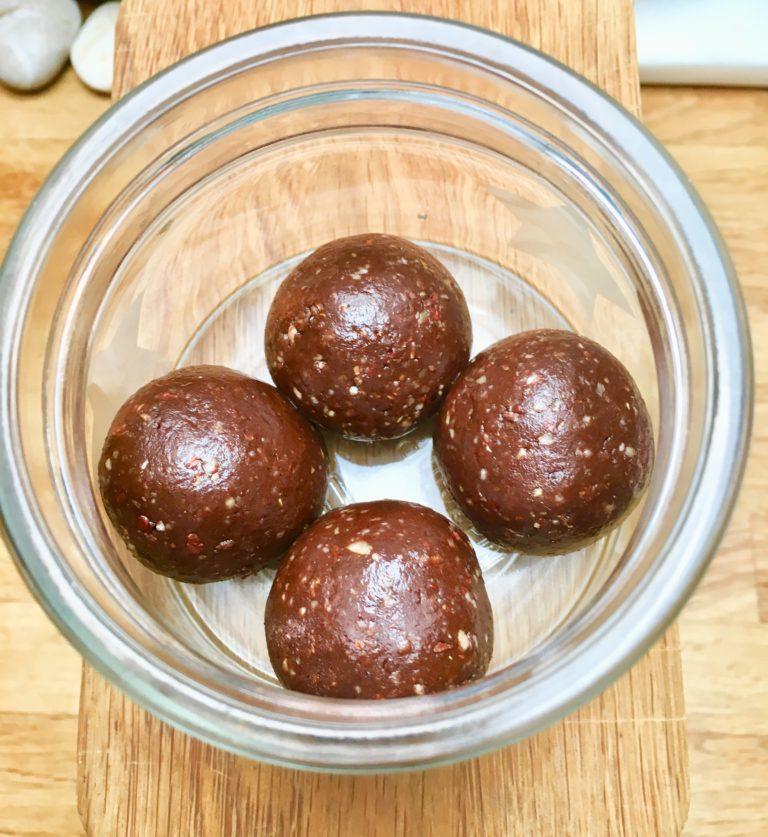 Protein balls- vegansk!